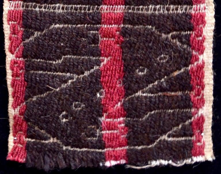 Hand-Woven Chancay Pre-Columbian Textile - Peru Ca. 1100-1400 AD- Ex Ferdinand Anton For Sale
