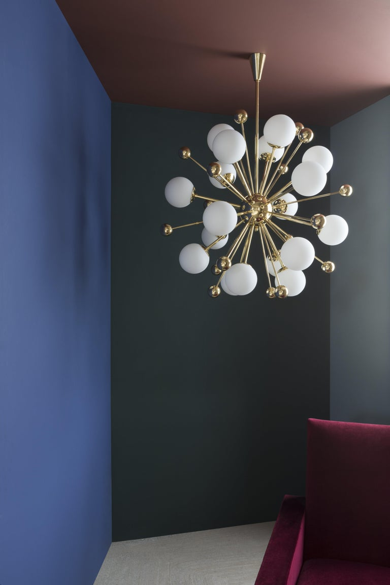 Brass Chandelier 01 Version 2 by Magic Circus Editions For Sale