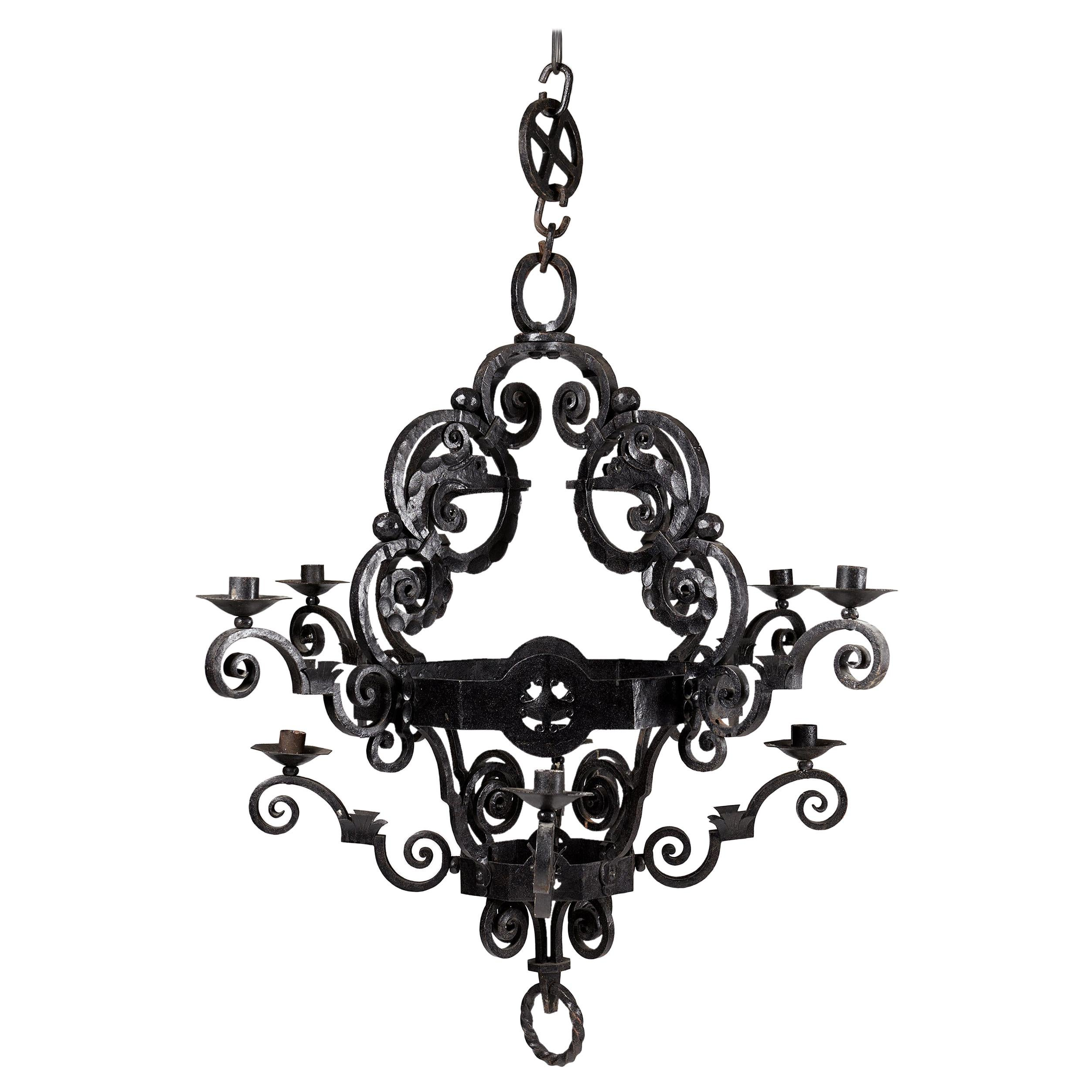 Chandelier, Anonymous, Sweden. Early 1900s