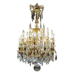 Chandelier Baccarat, 19th Century