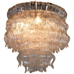 Chandelier by Barovier & Toso, Murano, 1970s