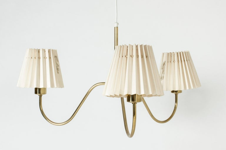 Scandinavian Modern Chandelier by Josef Frank for Svenskt Tenn, Sweden, 1950s