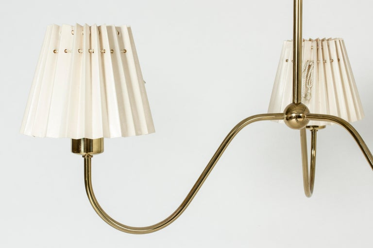 Chandelier by Josef Frank for Svenskt Tenn, Sweden, 1950s In Good Condition In Stockholm, SE