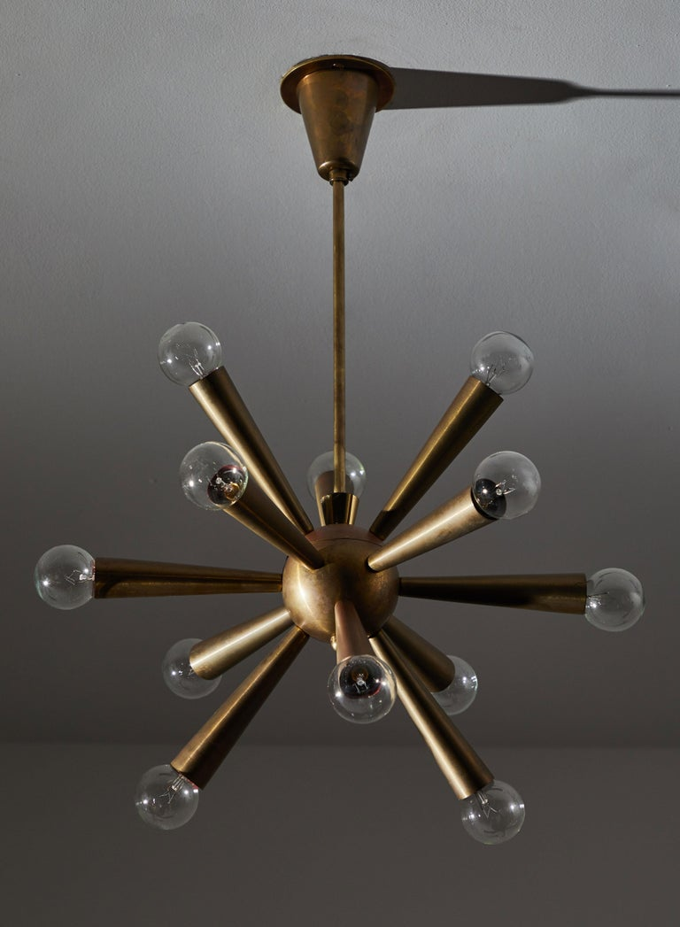 Austrian Chandelier In Good Condition For Sale In Los Angeles, CA