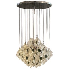Chandelier by Mazzega, Italy, 1960s