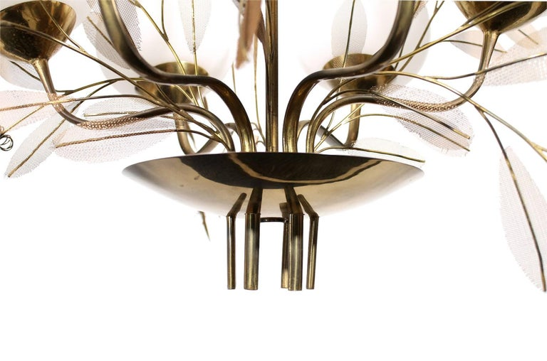 Chandelier by Paavo Tynell for Taito Oy For Sale 2