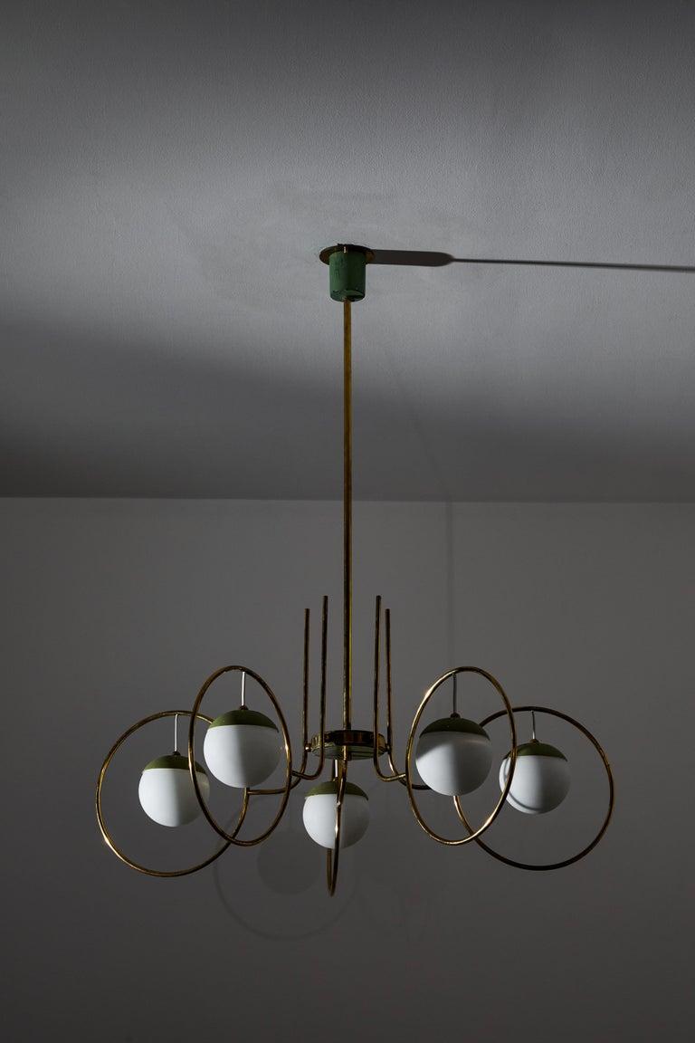 Chandelier by Stilnovo For Sale 3