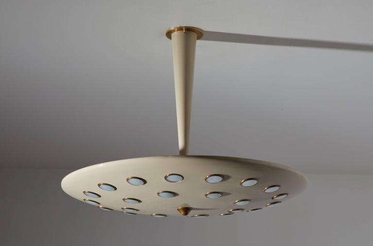 Italian Chandelier by Stilnovo For Sale