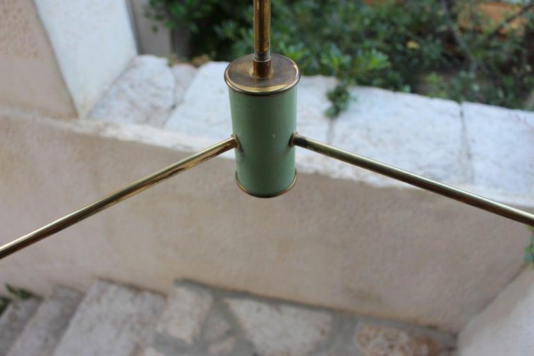 Italian Chandelier in the Style of Stilnovo For Sale