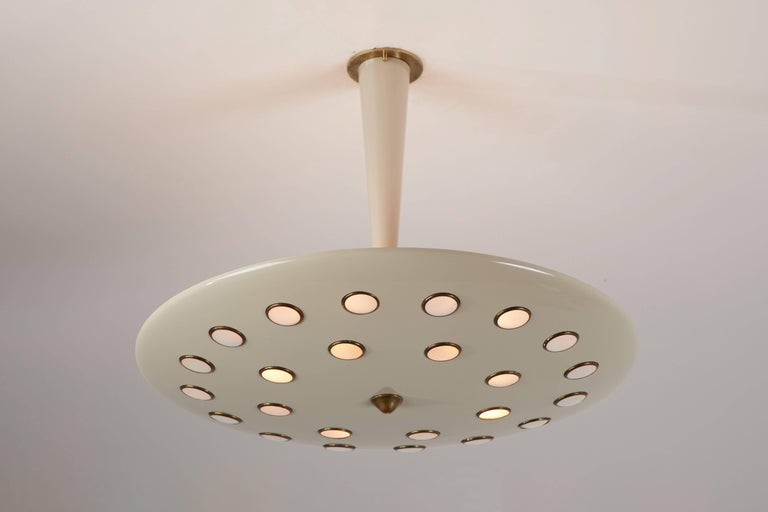 Mid-20th Century Chandelier by Stilnovo For Sale