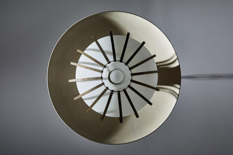 Mid-20th Century Chandelier by Stilnovo For Sale