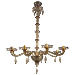 Chandelier by Venini, Italy, 1920s