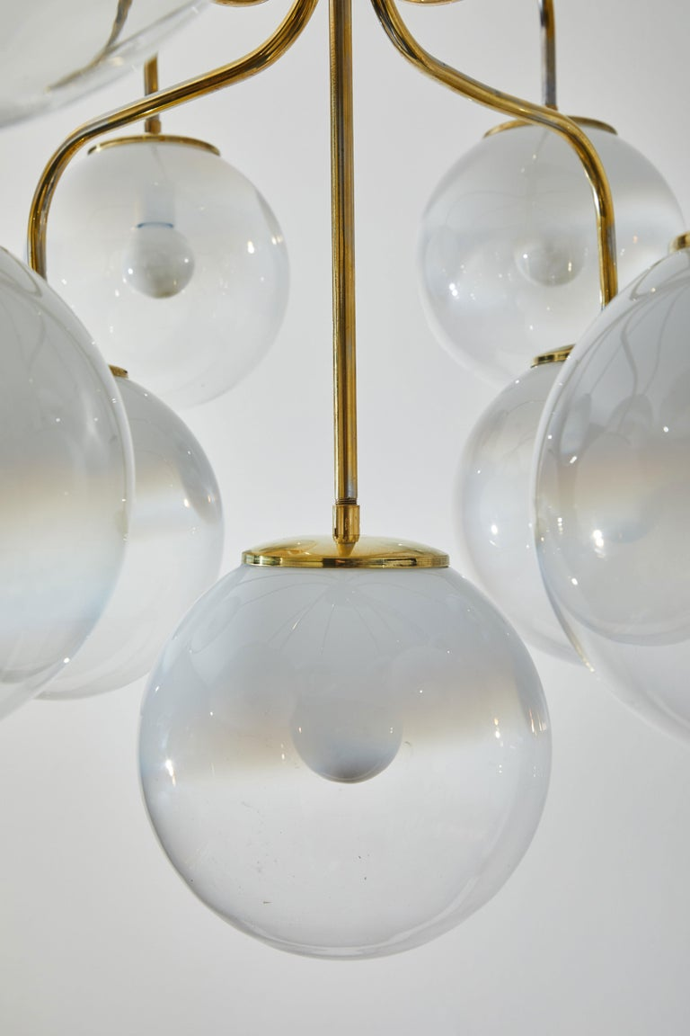 Chandelier by Angelo Mangiarotti for Candle  5