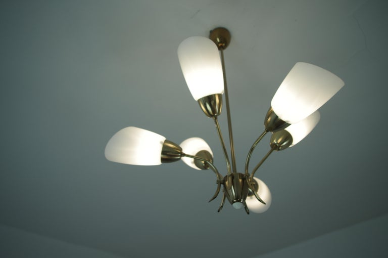 Late 20th Century Chandelier, circa 1980, Made in Czechoslovakia For Sale