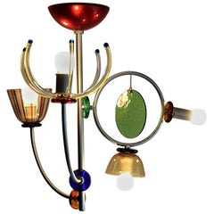 Chandelier Lete by Andrea Anastasio for Artemide 1990