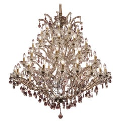Large Crystal Chandelier of the Extra Class
