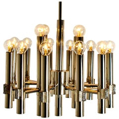 Chandelier or Sputnik by Angelo Brotto for Esperia Italia