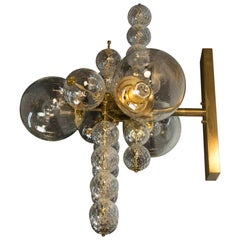 Chandelier or Wall Lamp by Kamenicky Senov, 1960s, Up to Six Items