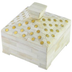 Chandler Box in Natural Wood by CuratedKravet