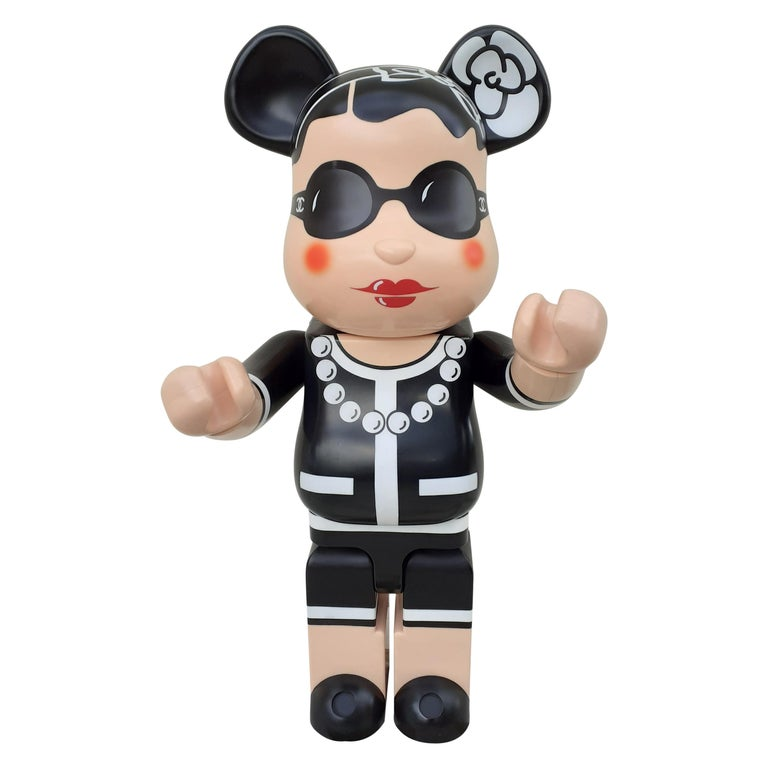 Chanel 1000% Bearbrick Medicom Limited Edition Rare Collector For Sale