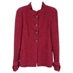 Chanel 12A Paris Bombay Gripoix Button Boucle Blazer Jacket