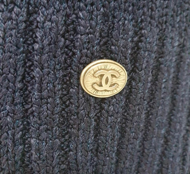 Women's Chanel 12P Sleeveless Knit Dress  For Sale