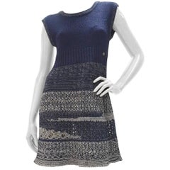 Chanel 12P Sleeveless Knit Dress
