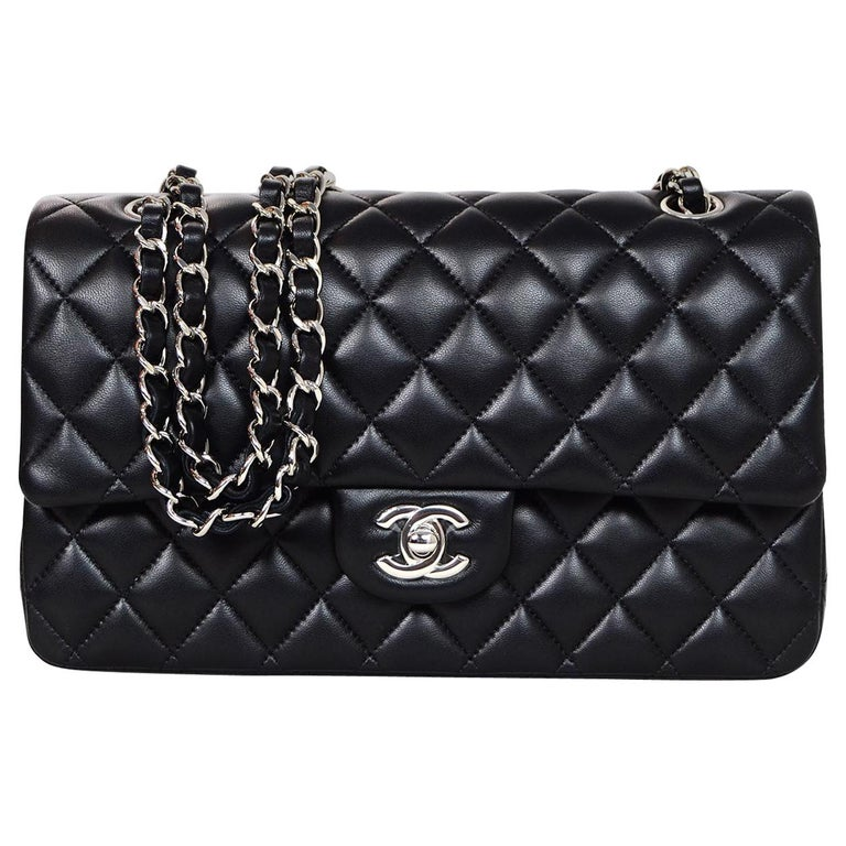 f28cdb0a7c94 Chanel '18 Black Quilted Lambskin Leather 10