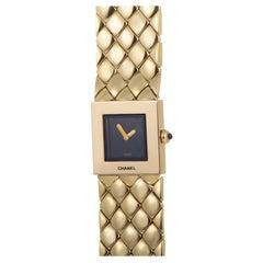 Chanel 18 Karat Yellow Gold Quartz Ladies Wristwatch ChA01-021115