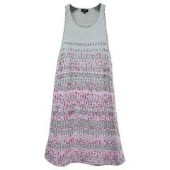 Chanel 18S Waterfall Asymmetrical Knit Tank Top Mini Dress