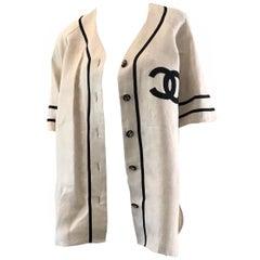 Chanel 1989 Baseball Jersey
