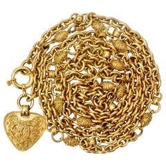 Chanel 1994 'CC' Pendant Chain Link Belt/Necklace