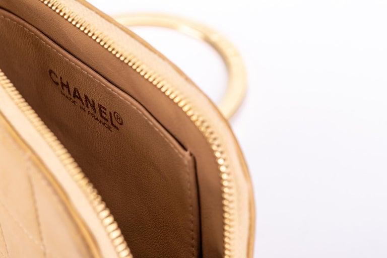 Chanel 2 Tone Wristlet Evening Bag 4