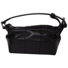Chanel 2003/2004 Square Stitch Leather Tote