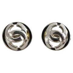Chanel 2005 Logo Earrings