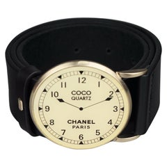CHANEL 2007 Cruise Collection Face Watch Belt