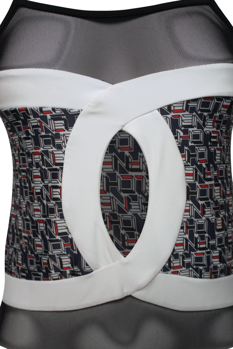 Chanel 2013 Swimsuit In Good Condition For Sale In Melbourne, Victoria
