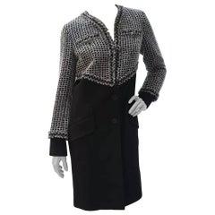 Chanel 2013 Tweed Wool Coat