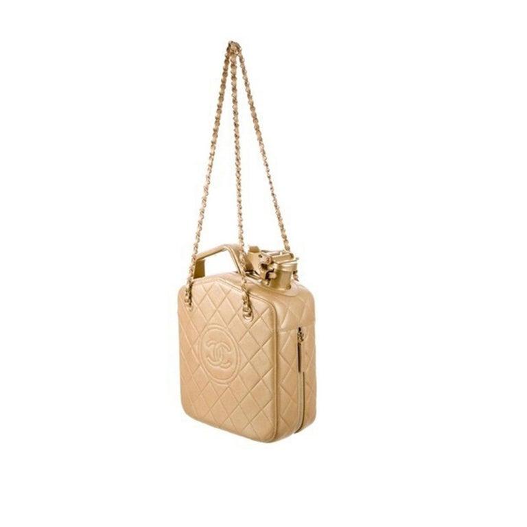 Women's or Men's Chanel 2015 Paris Dubai Night Gas Tank Jerry Can Statement Bag Collector's Item