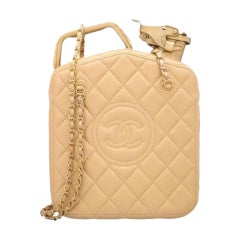 Chanel 2015 Paris Dubai Night Gas Tank Jerry Can Statement Bag Collector's Item