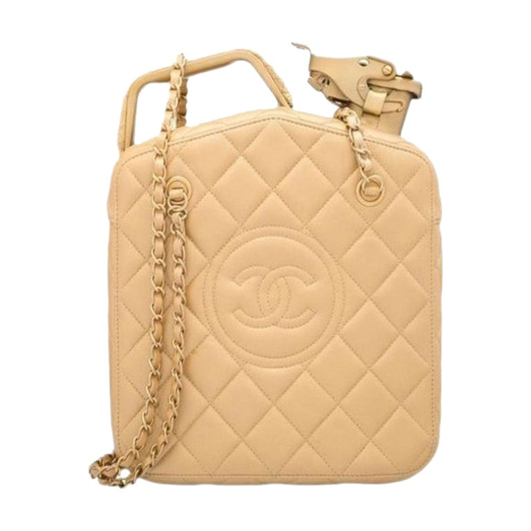 Chanel 2015 Paris Dubai Night Gas Tank Jerry Can Statement Bag Collector's Item