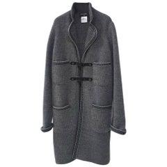 Chanel 2015 Paris-Salzburg Grey Cashmere Coat