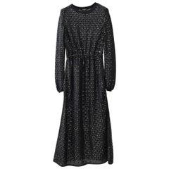 Chanel 2016 Angora Blend Maxi Dress