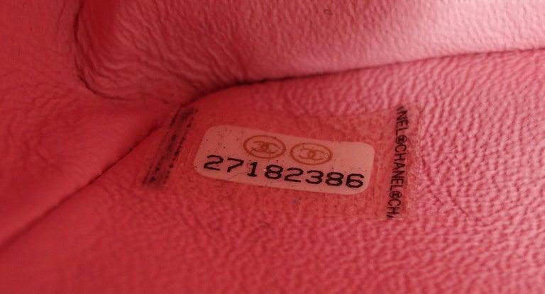 Chanel 2019 Mini Tweed Flap Bag 2