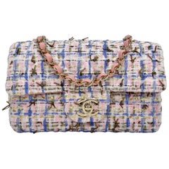 Chanel 2019 Mini Tweed Flap Bag