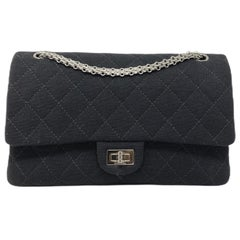 Chanel 2.55 Black Jersey Reissue Bag, 2013