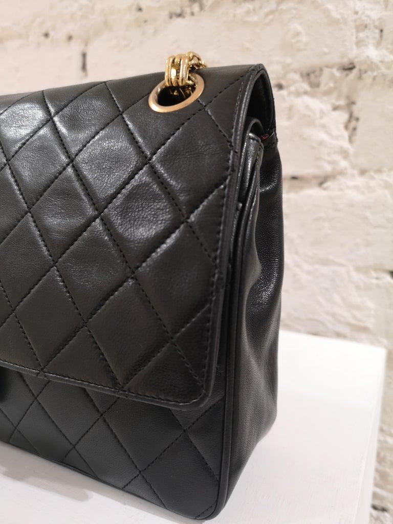 Women's Chanel 2.55 Black Leather Shoulder Bag