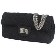 CHANEL 2.55 chain shoulder  Womens shoulder bag brown x silver hardware