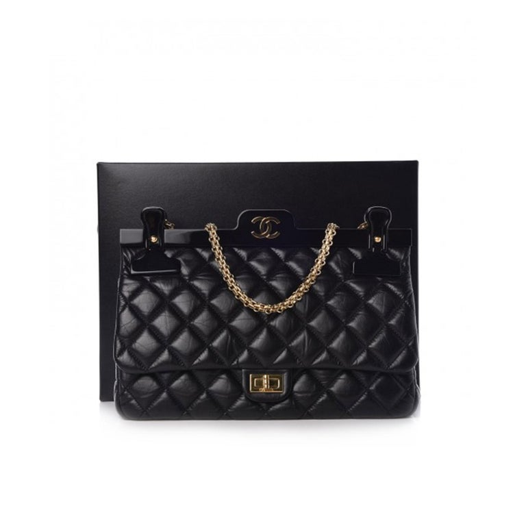 Chanel 2.55 Reissue Classic Flap Rare Hanger Large Limited Editiion For Sale 1