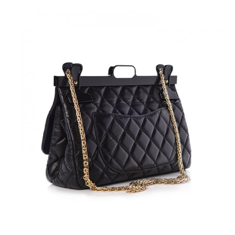 Chanel 2.55 Reissue Classic Flap Rare Hanger Large Limited Editiion For Sale 2